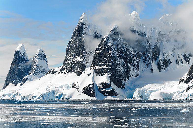 Wulkany pod Antarktydą. Odkryto 91 nowych