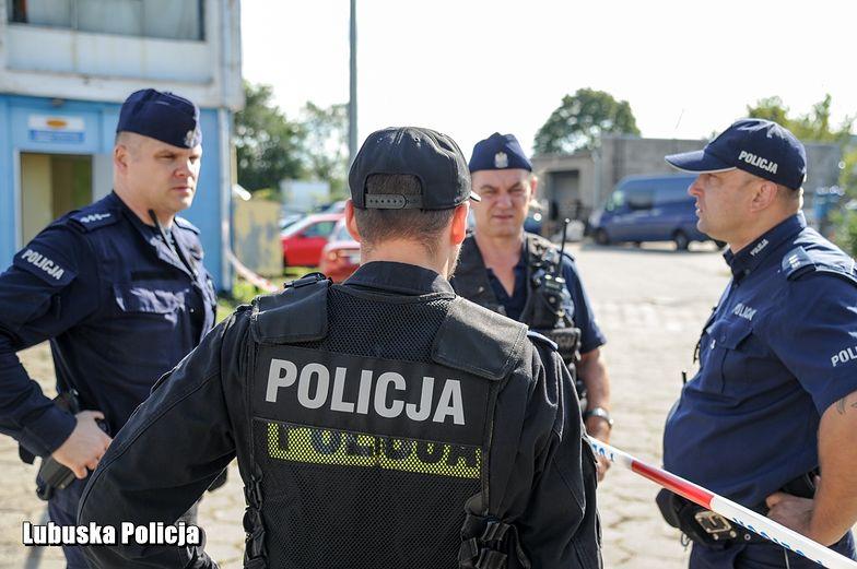 Gorzów Wielkopolski. Napastnik zastrzelony na terenie Niemiec.