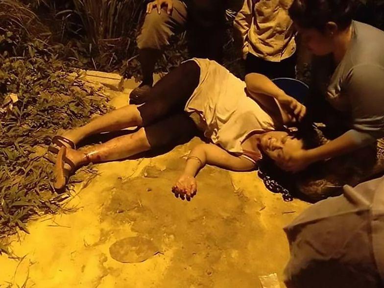 Malezyjka poszła wyrzucić śmieci. Zaatakował ją 6-metrowy pyton