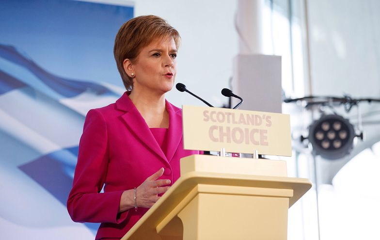 """Szkocja. Premier Nicola Sturgeon uznała, że nastąpił """"przełomowy moment"""""""