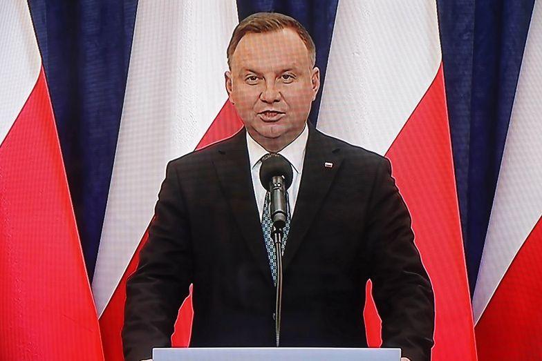 Koronawirus. Andrzej Duda apeluje do marszałka Grodzkiego