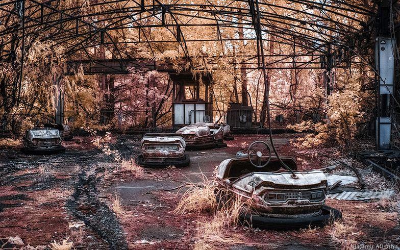 Samochodziki w lunaparku