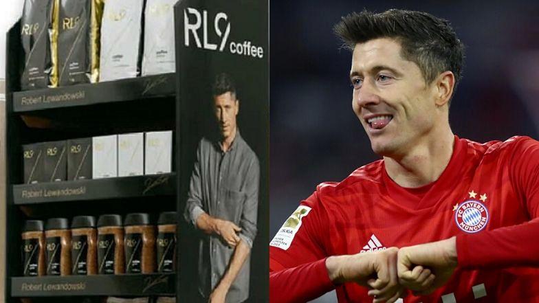 Robert Lewandowski promuje własną markę kawy.
