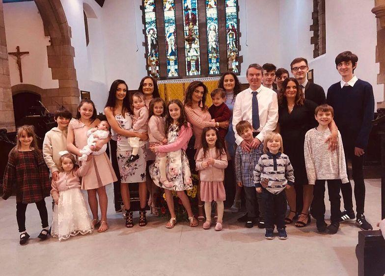 Największa rodzina w Europie znowu się powiększyła. To już 21. dziecko