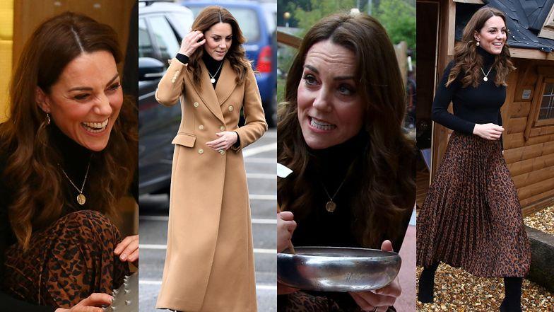Rozweselona Kate Middleton próbuje zatrzeć niesmak po Megxicie, odwiedzając Centrum Dziecięce w Ely