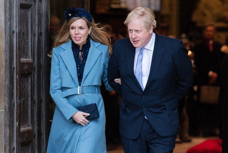 Partnerka Borisa Johnsona, Carrie Symonds, nie może odwiedzać premiera Wielkiej Brytanii w szpitalu