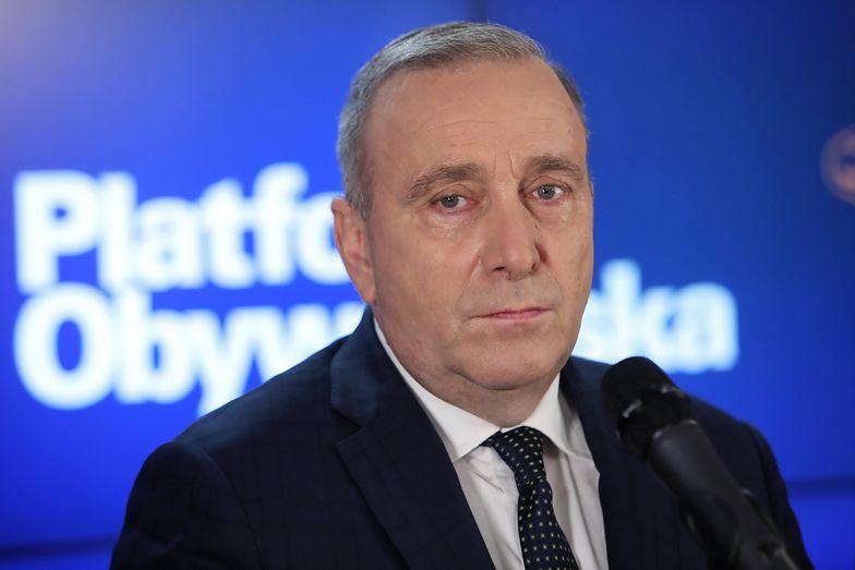 Grzegorz Schetyna podjął decyzję