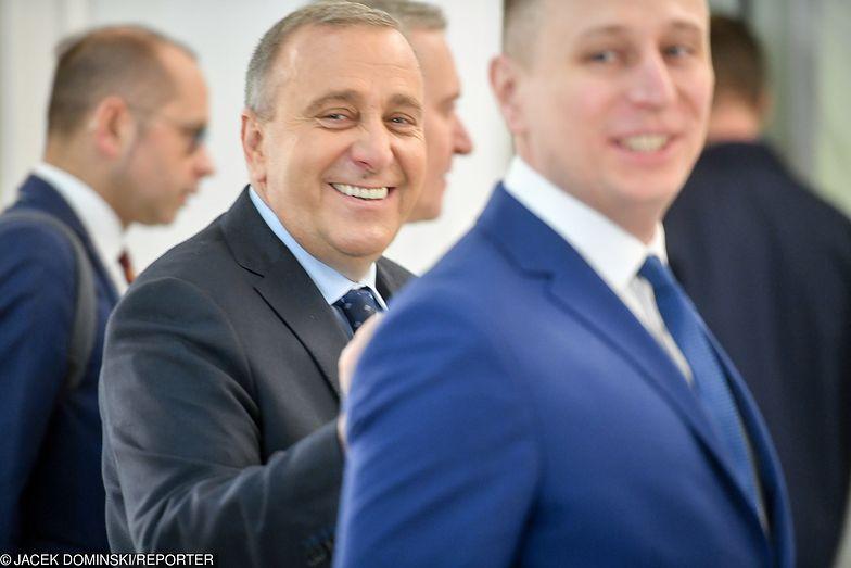 Grzegorz Schetyna i Krzysztof Brejza