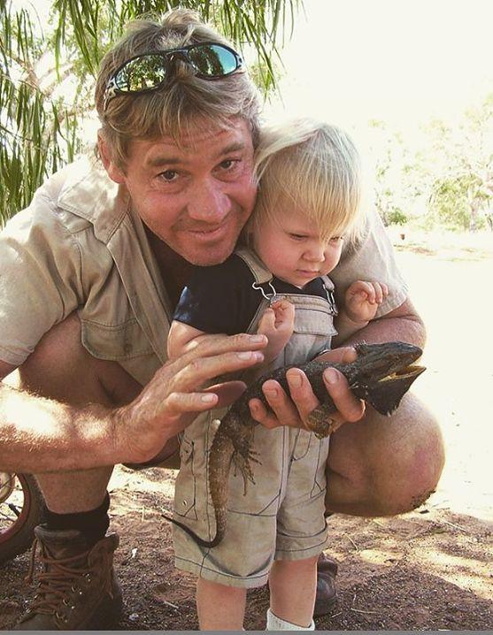 Robert Irwin jest synem słynnego przyrodnika Steve'a Irwina