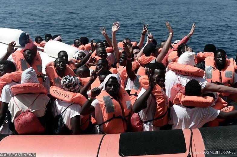 Tragedia imigrantów na Morzu Śródziemnym. Zginęło 170 osób