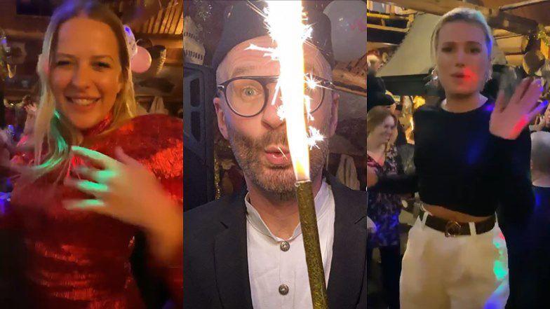 Popularny prezenter radiowy co roku organizuje huczną imprezę urodzinową, na której zjawia się śmietanka towarzyska.
