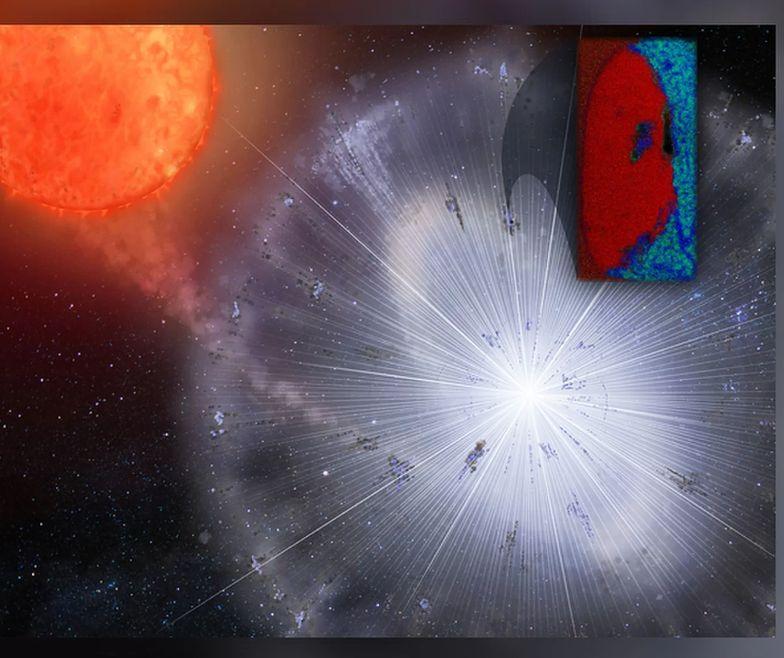Znaleziony meteoryt może pochodzić z wybuchu