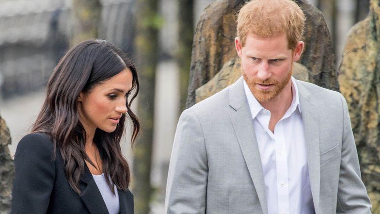 """Nikt z rodziny królewskiej NIE ROZMAWIA z Meghan Markle i księciem Harrym. """"Nic się nie zmieniło"""""""