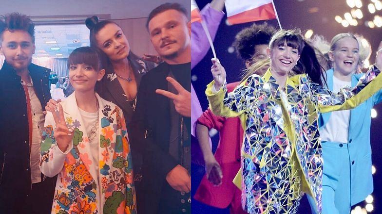 """Wiktoria Gabor podziękowała na Instagramie twórcom piosenki """"Superhero""""."""