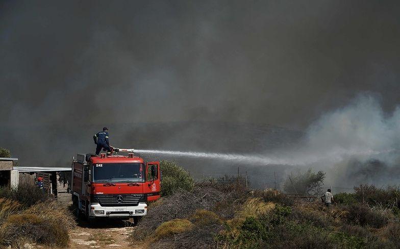 Grecja płonie. Trwa ewakuacja turystów