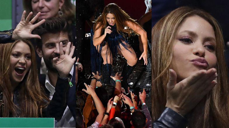 Zakochana po uszy Shakira wygłupia się na trybunach z przystojnym Gerardem Pique (FOTO)