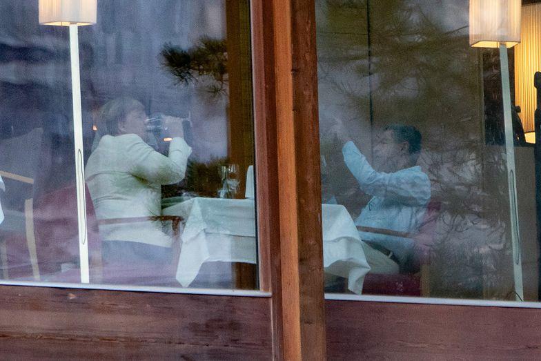 Angela Merkel na wakacjach. Kanclerz Niemiec odpoczywa w Alpach