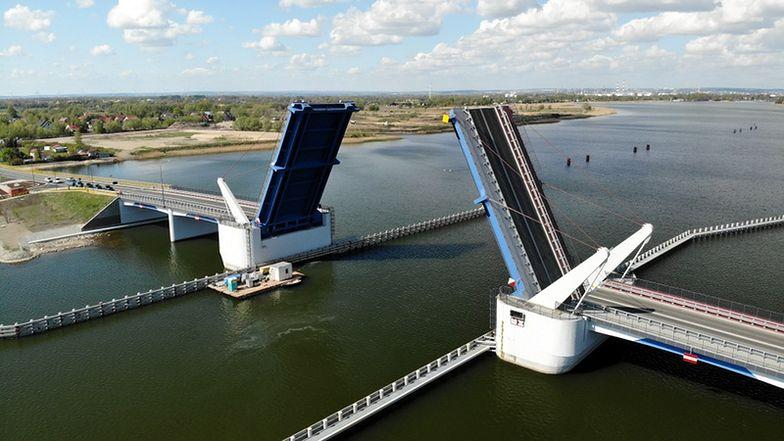 To największy most zwodzony w kraju