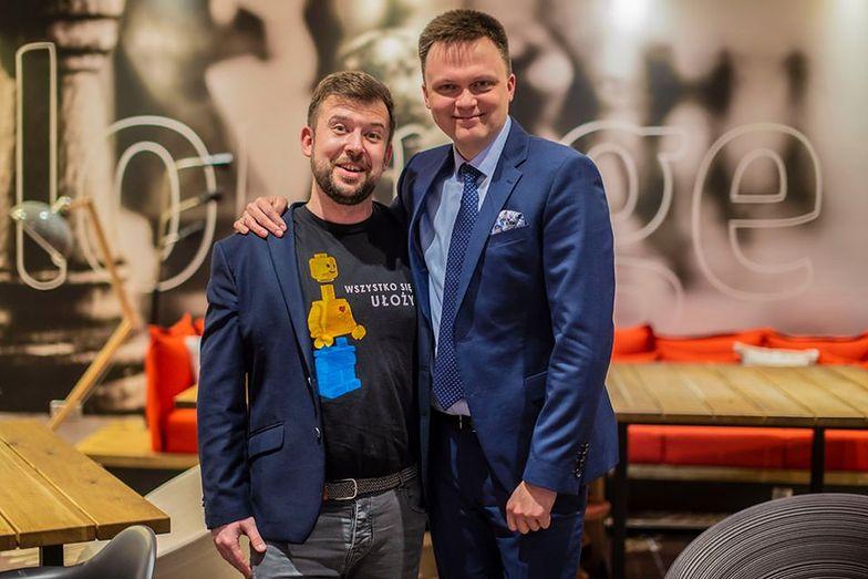 Szymon Hołownia i Przemysław Staroń