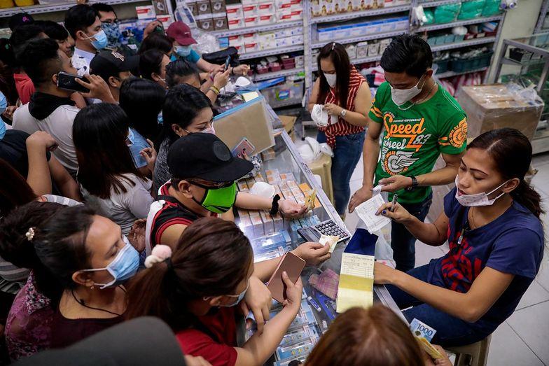 Filipińczycy są przerażeni