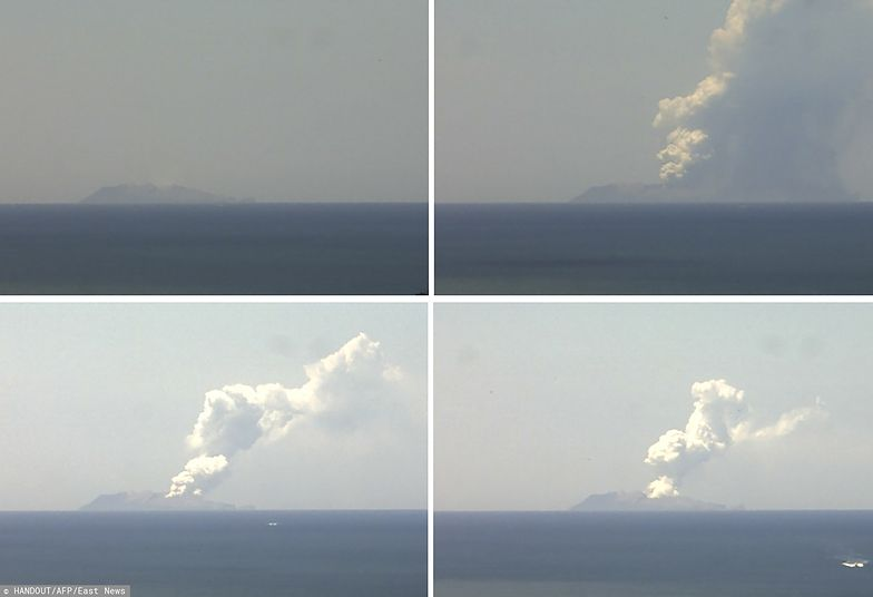 Nowa Zelandia. Dramat po wybuchu wulkanu
