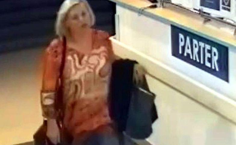 Warszawa. Prysnęła gazem w twarz i ukradła torebkę. Policja poszukuje kobiety