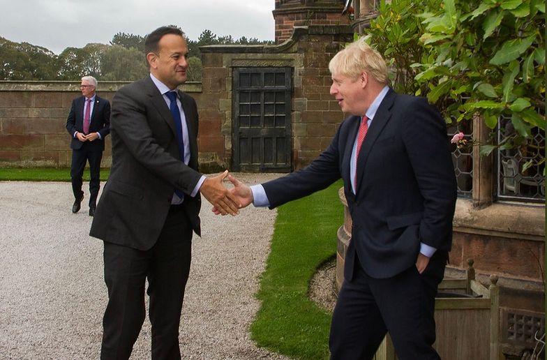 Spotkanie premierów Wielkiej Brytanii i Irlandii