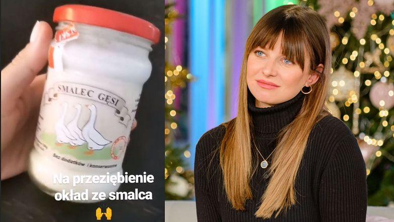 """Anna Lewandowska nominowana do Biologicznej Bzdury Roku za OKŁADY Z GĘSIEGO SMALCU. Lekarz: """"Jego działanie pozostaje w sferze marzeń"""""""