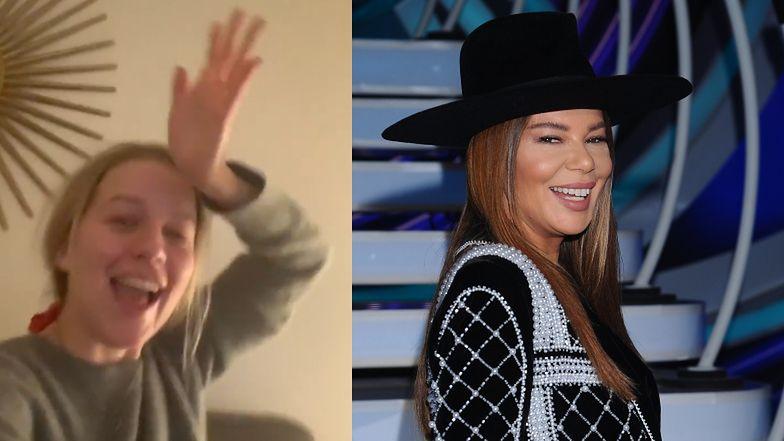 """Ekstaza Jessiki Mercedes na Instagramie: """"Edyta Górniak w mojej sukience! To tak, jakby Cher założyła sukienkę amerykańskiej blogerki!"""""""