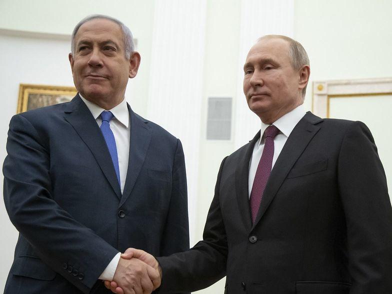 """Netanjahu o Putinie: """"Izrael i Rosja byłyby w stanie wojny"""""""