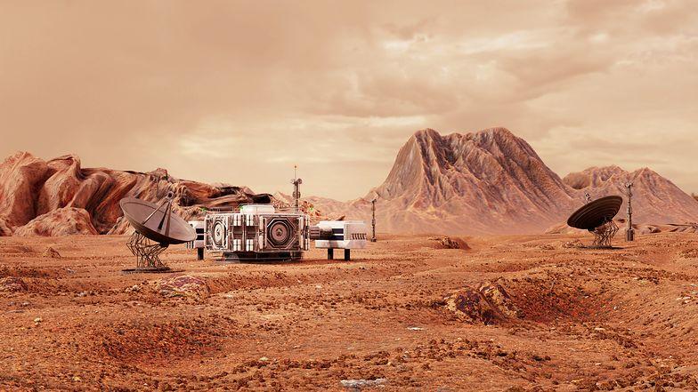 NASA zarejestrowała dźwięki spod powierzchni Marsa