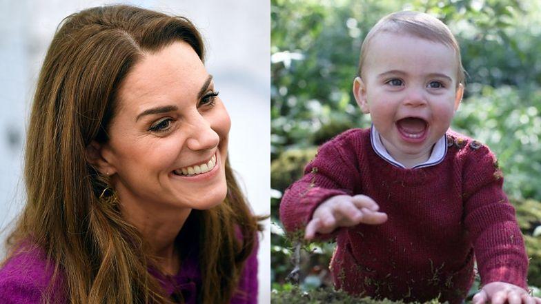 """Kate Middleton zdradziła, jakie było pierwsze słowo jej synka! O dziwo książę Louis nie powiedział """"mama""""..."""