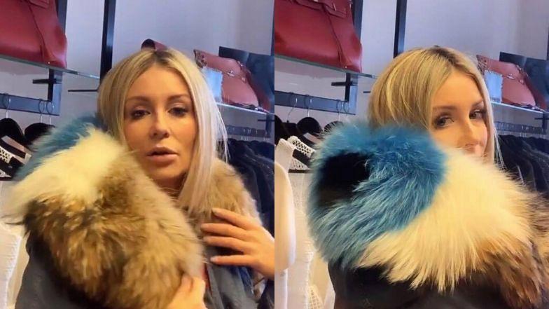 """Świadoma Małgorzata Rozenek radzi: """"Lepiej już kupić futro, które jest na świecie, niż kupować nowe. Nie ZABIJA SIĘ już kolejnego zwierzęcia"""""""