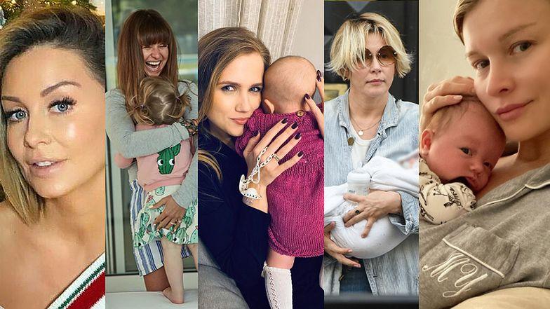Celebrytki, które zostały mamami lub zaszły w ciążę w 2019 roku (ZDJĘCIA)
