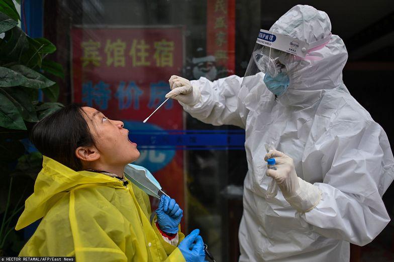 Chiny ogłaszają koniec epidemii. Zdjęcie ilustracyjne