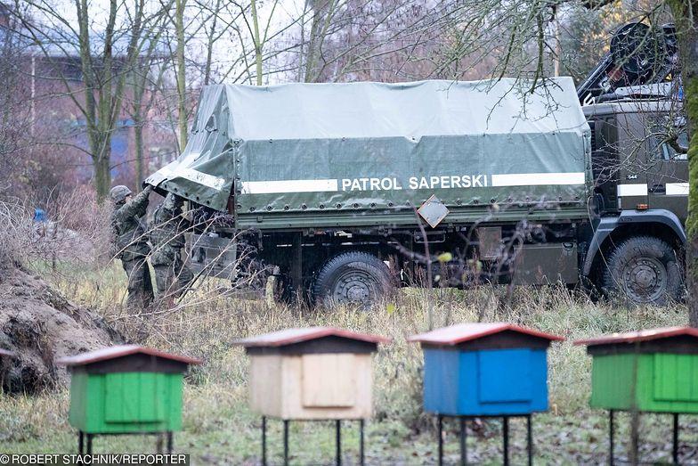 Kolejny niewybuch z czasów II wojny światowej znaleziono w Policach