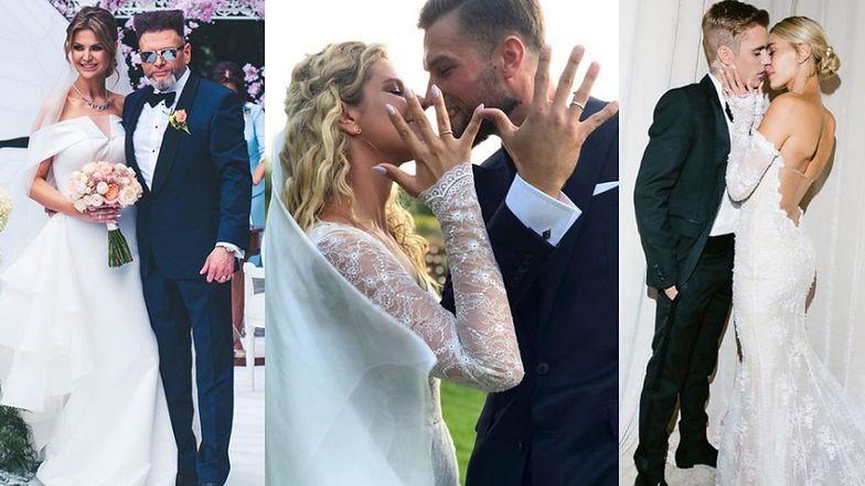 Najgłośniejsze śluby w 2019 roku: Krzysztof Rutkowski i Maja Plich, Zofia Zborowska i Andrzej Wrona… (ZDJĘCIA)