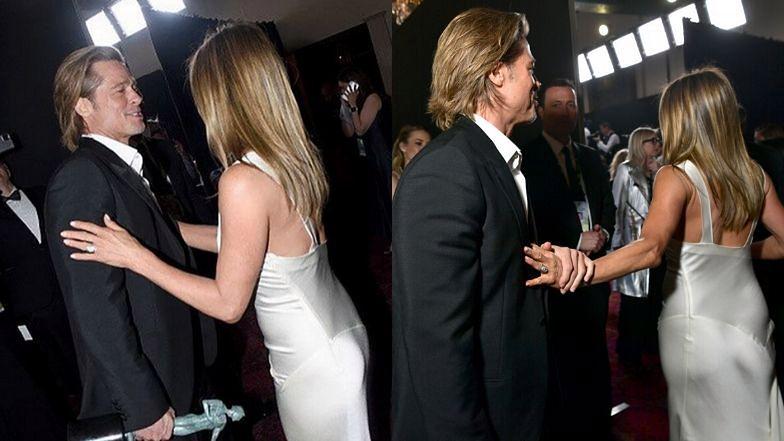 Ekspertka od mowy ciała przeanalizowała spotkanie Jennifer i Brada.