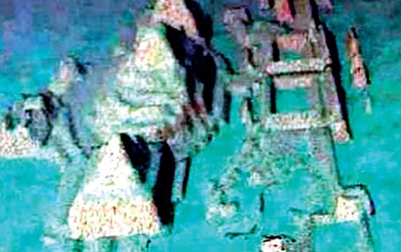 Zatopione miasto u wybrzeży Kuby. Bermudzka Atlantyda?