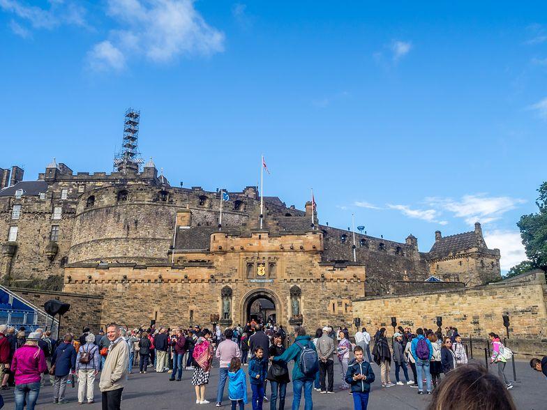 Dramat na zamku w Edynburgu. Turyści patrzyli na śmierć 20-latka