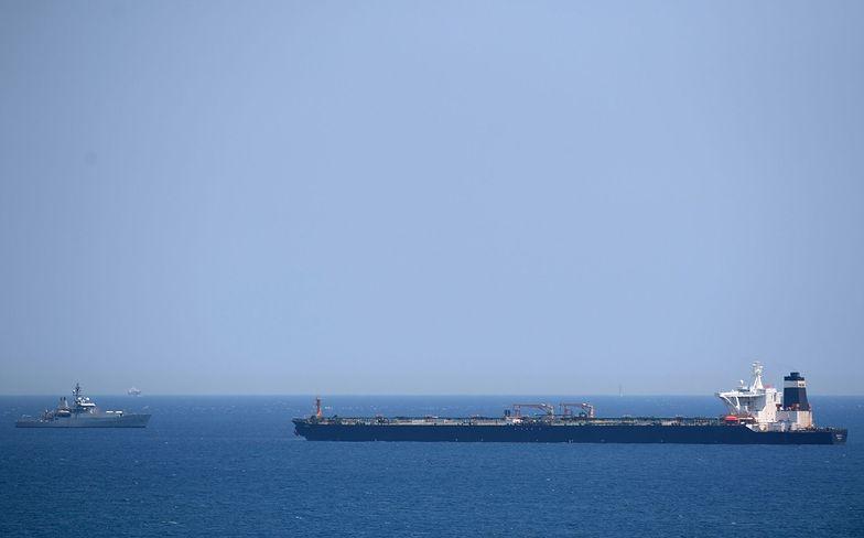 Tankowiec zatrzymany u wybrzeży Gibraltaru