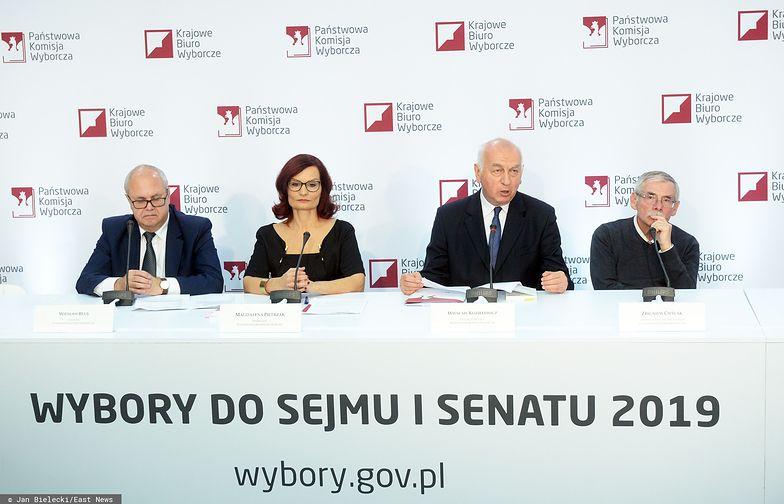 Wybory parlamentarne 2019. PKW podsumowuje głosowanie