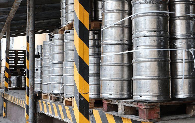 Browar Żywiec przekazał alkohol z produkcji piwa bezalkoholowego na produkcję płynów do dezynfekcji rąk.