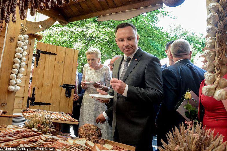 Andrzej Duda lubi zajadać się nie tylko ciastkami