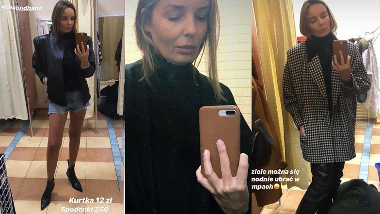 """Eko Agnieszka Włodarczyk urządziła pokaz mody w lumpeksie: """"Słuchajcie, po prostu JEST SZAŁ"""" (FOTO)"""