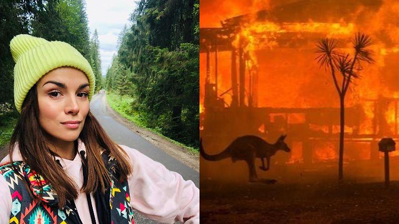 """Paulina Krupińska komentuje pożary w Australii: """"Kiedy zginie ostatnia ryba, odkryjemy, że nie można jeść pieniędzy..."""""""