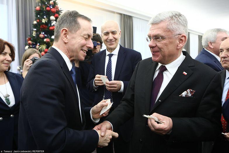 Tomasz Grodzki i Stanisław Karczewski