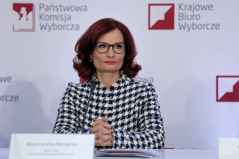Szefowa KBW Magdalena Pietrzak zdradziła, kiedy będą znane wyniki wyborów parlamentarnych 2019