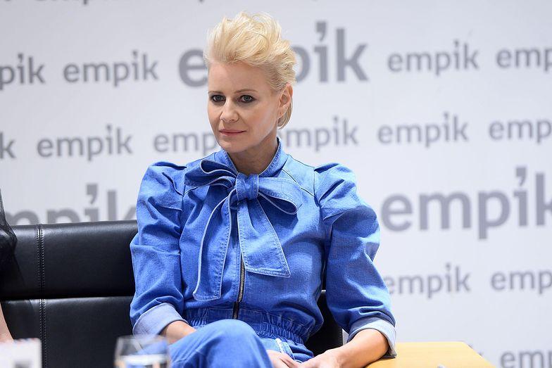 """Małgorzata Kożuchowska w felietonie dla magazynu """"Forbes"""" mówi i o blaskach i cieniach macierzyństwa"""