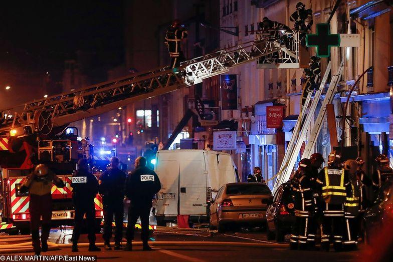 Pożar w Lyonie. Ofiary to kobieta w ciąży i dziecko